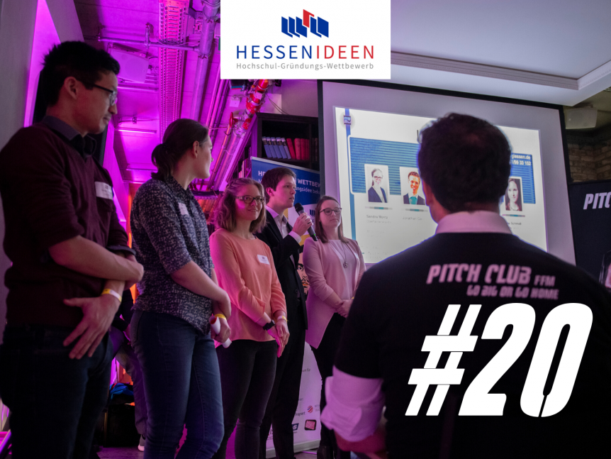 "Pitch Club 20 in Kooperation mit ""Hessen Ideen"""